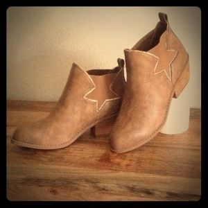 Ankle Boots Cowboy Star